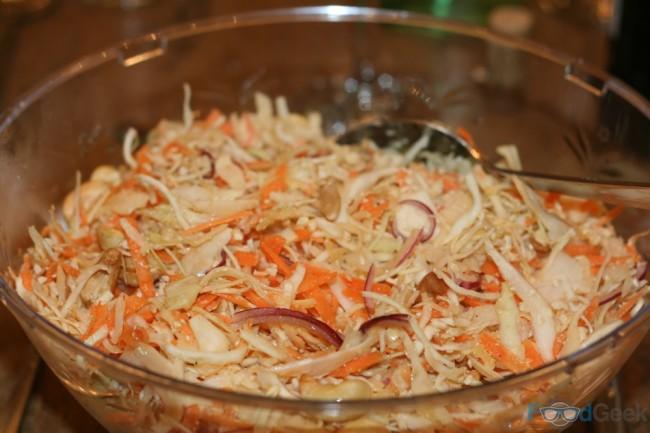 Cabbage & Cashew Slaw