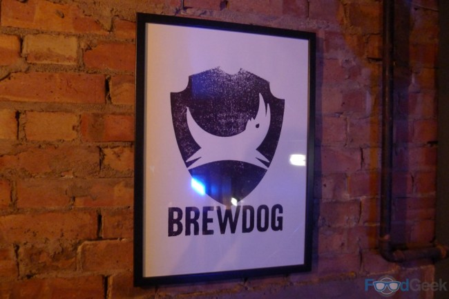 BrewDog Manchester, Upstairs Poster