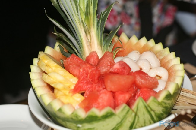 Tropical Malaysian Fruit Platter