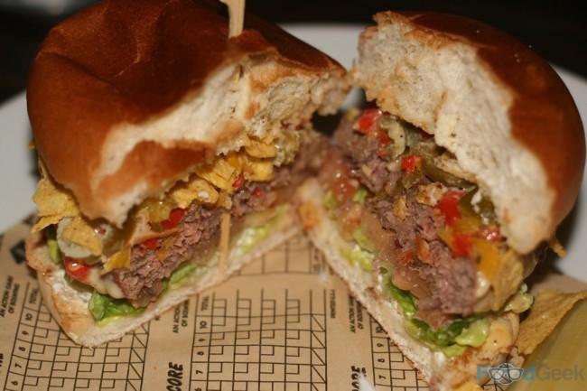 Nacho Cheeseburger Inside