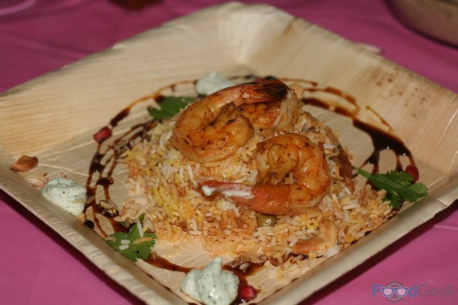 Shashlik King Prawns