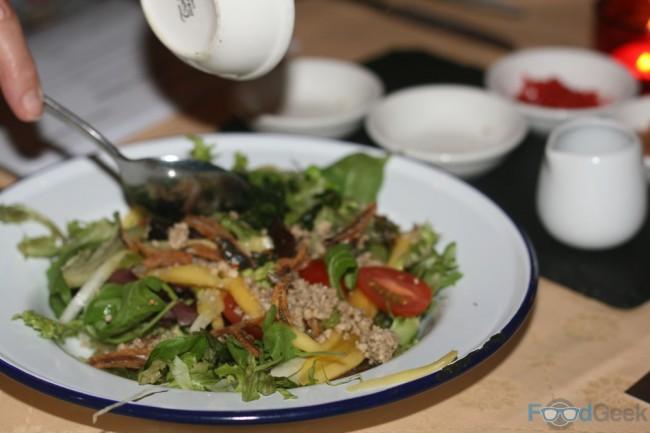 DIY Mango Salad