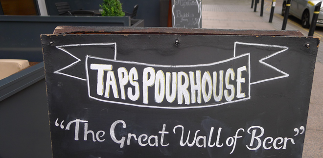 Beer & Food Pairing @ Taps, Manchester – It Can't Be As Bad As Last Time, Can It?