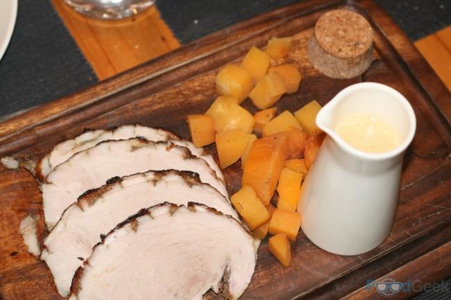 Cider Cured Ham & Baked Swede