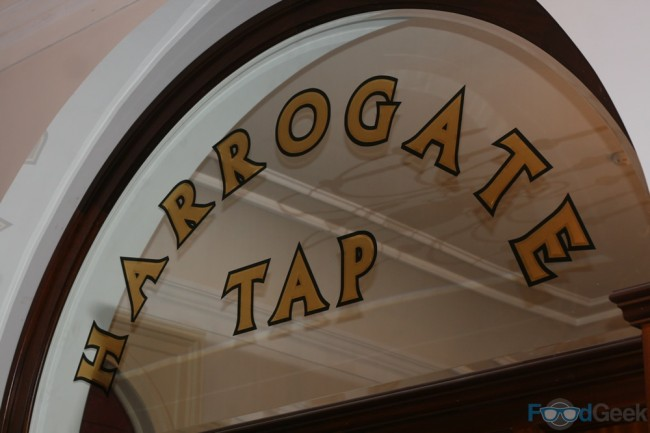Harrogate Tap   Inside Sign