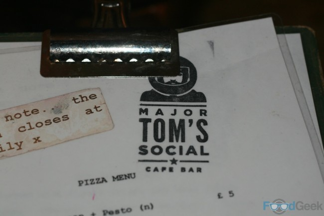 MajorToms-Menu