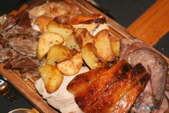 Roast Beef, Pork, Lamb & Chicken