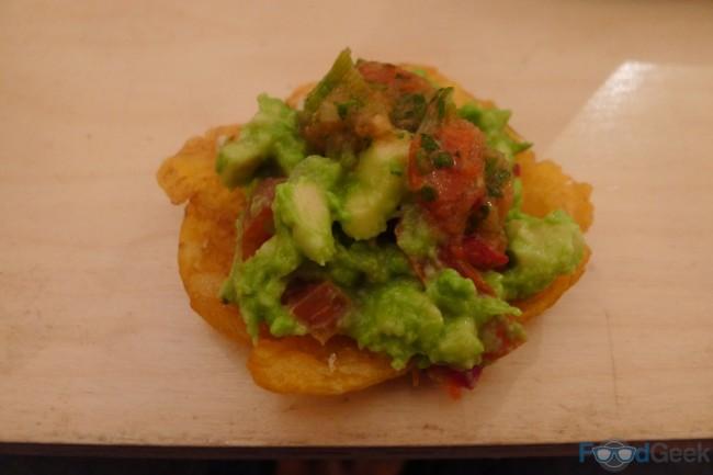 Para Picar with salsa & guacamole
