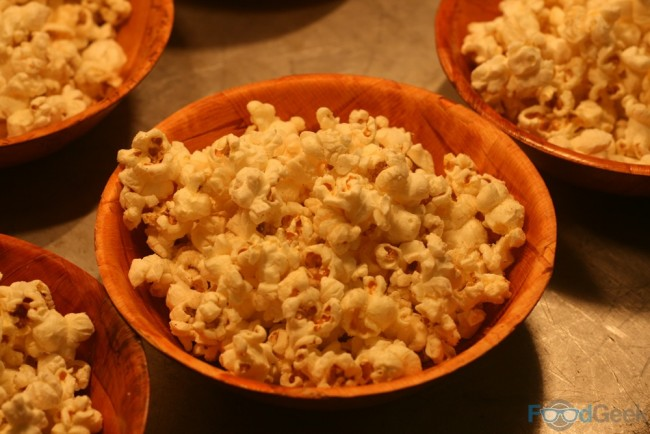 Christmas Spiced Popcorn