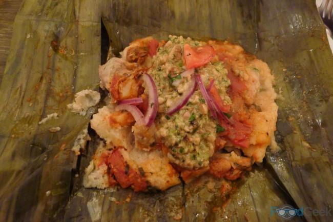 Tamalesde Pipian - Arepa