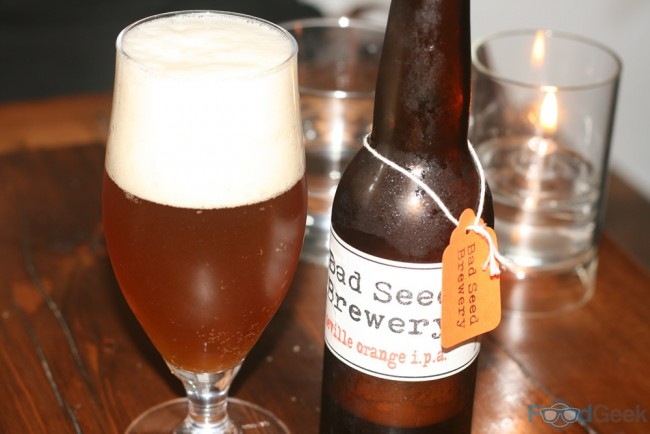 Bad Seed Orange IPA