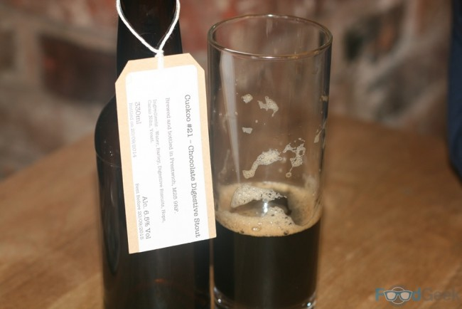 Five-Oh Brew - Chocolate Digestive Stout