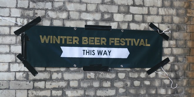 Grub 'Winter Beer Fest' 2015, Green Quarter, Manchester