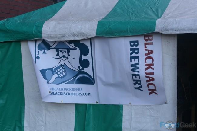 Outside Blackjack Sign