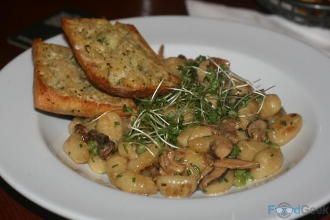 'Potato Dumplings', Creamy Wild Mushrooms