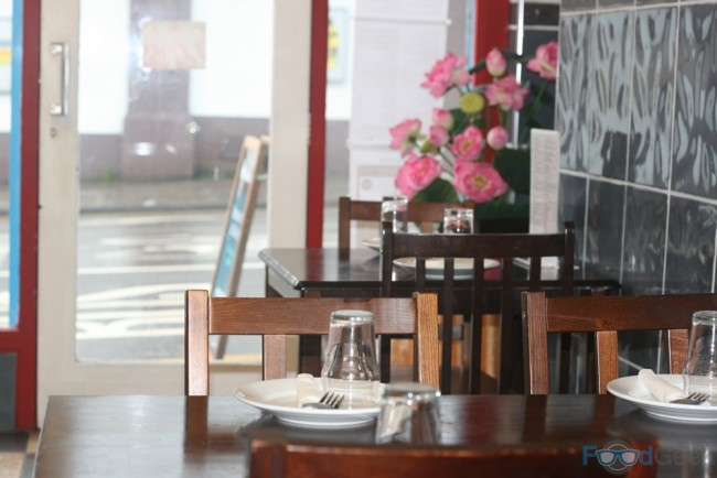 Inside Thailand Cafe