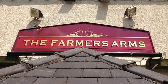 Finally Back To The Farmers Arms, Bolton