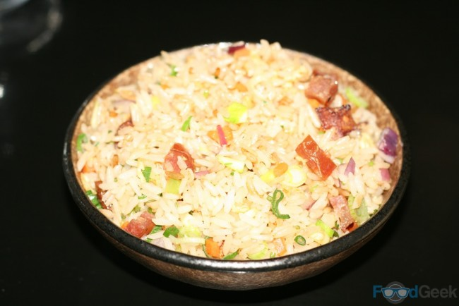 Duck Egg & Sausage Fried Rice