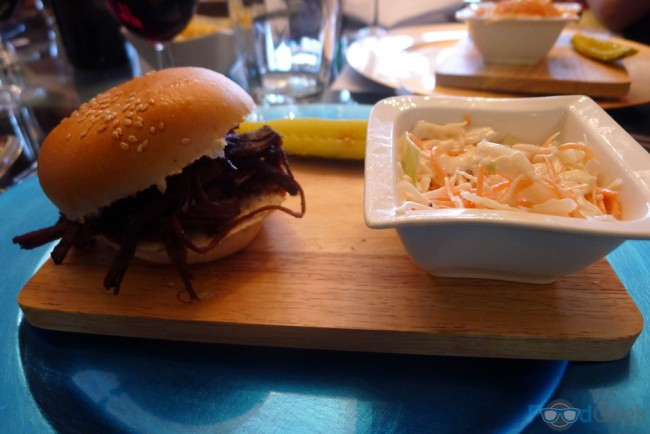 Pulled Brisket Slider