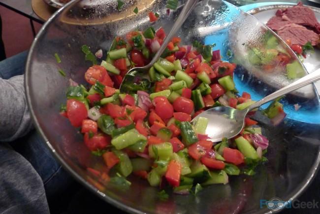 Isralei Salad