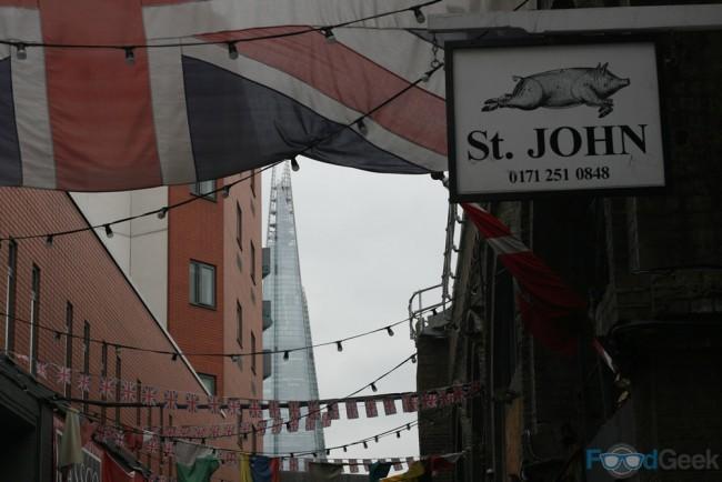 Maltby Street & The Shard