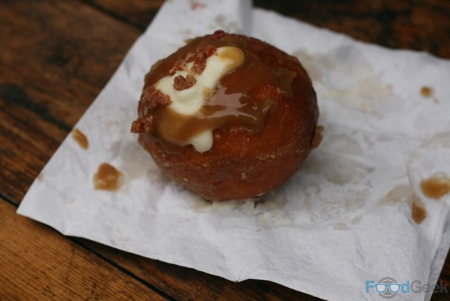 Manchester Doughnut Co. - Bacon & Bourbon Doughnut