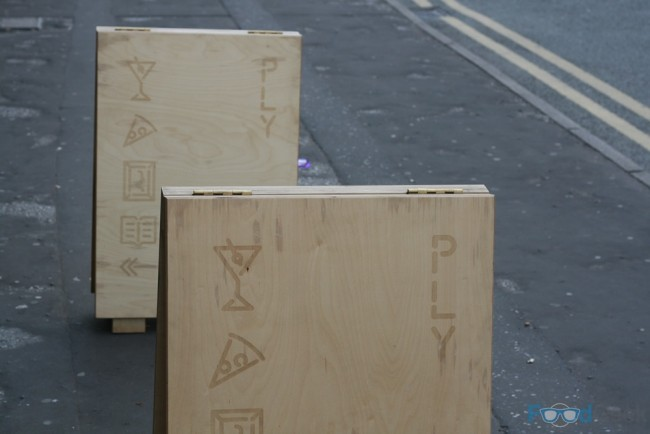 PLY Outside Sign