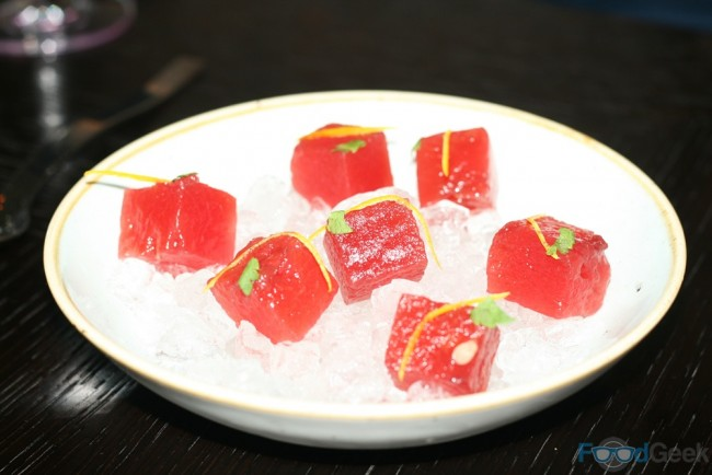 Albert Adria, Tickets, Spain | Watermelon infused in sangria