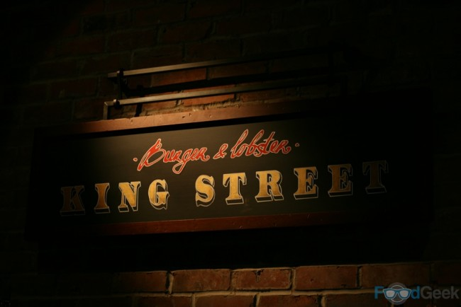 Burger & Lobster, King Street