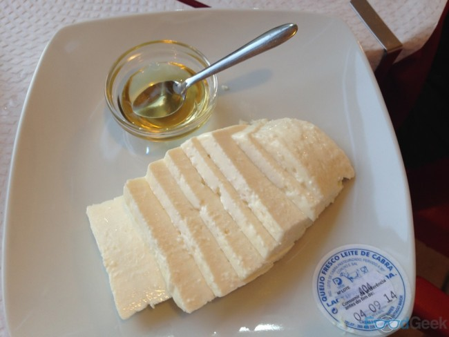 Fresh Cheese With Honey
