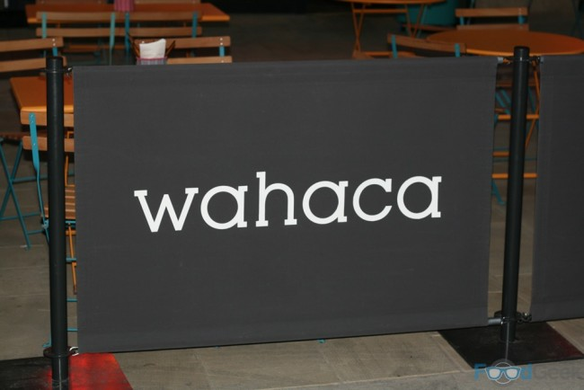 Sign Outside Wahaca
