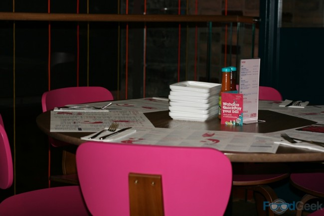 Wahaca Table