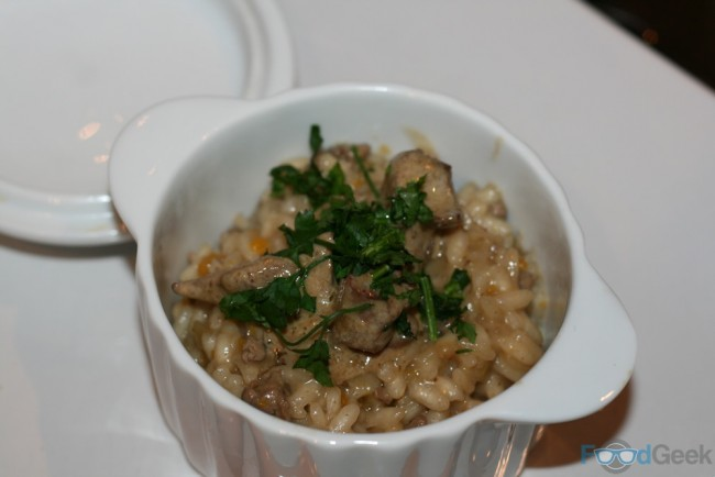 Chicken Liver Risotto