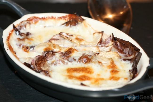 Radicchio & Gorgonzola Bake