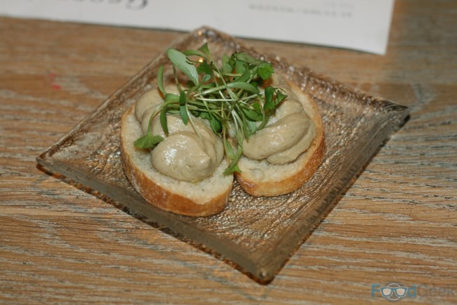 Pea & Chicken Liver Mousse