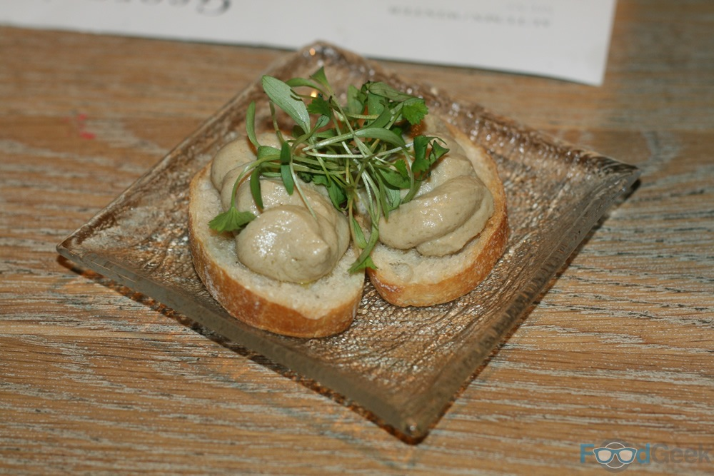 Pea Chicken Liver Mousse