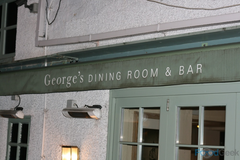 george's dining room & bar, worsley - food geek | food blog