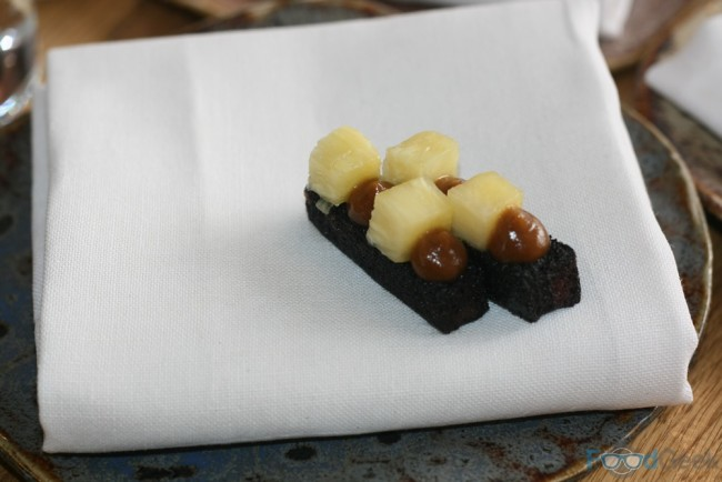 Black Pudding & Pineapple