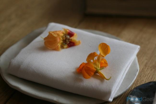 Oyster & Flower