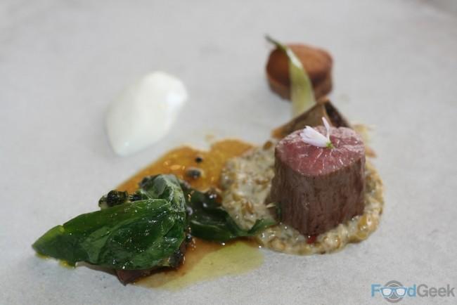 Herdwick Lamb, Sheep's Yoghurt & Ramson