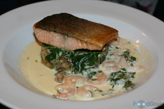 Baked Salmon Supreme