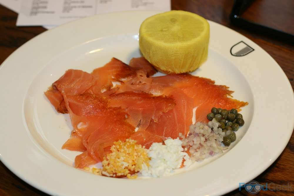 Christmas at caf football hotel football manchester for Salt cured fish