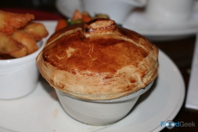 Beef & ale pot pie