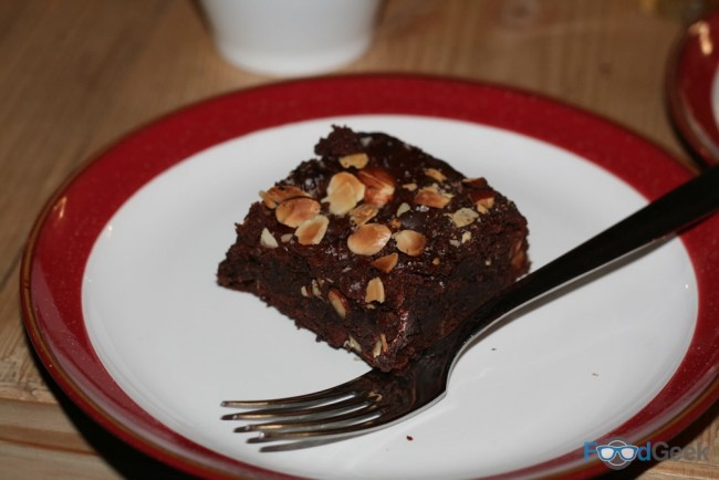 Salted Chocolate, Almond & Spelt Brownie