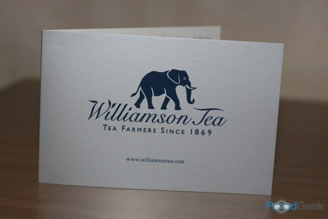 Williamson Tea Card