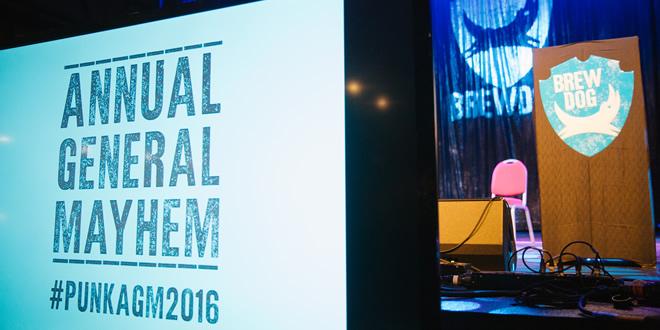 BrewDog – AGM 2016, Aberdeen #PunkAGM2016