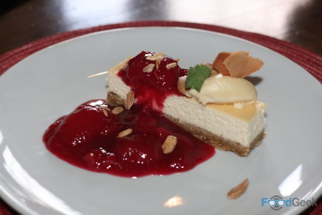 'Polish Style' Cheesecake