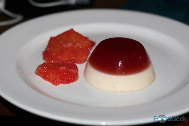 Blood Orange Pannacotta