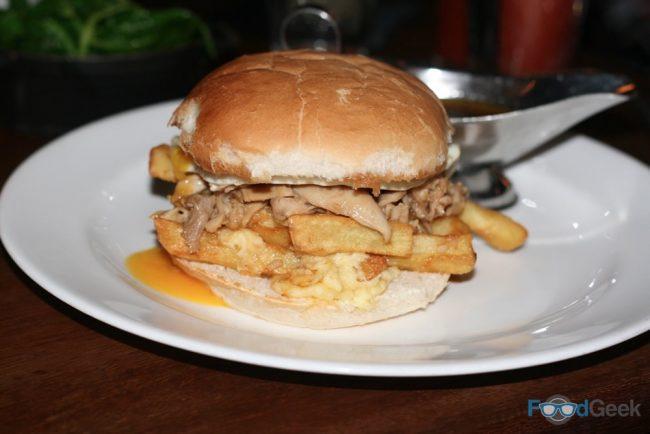 Chicken Poutine Barm