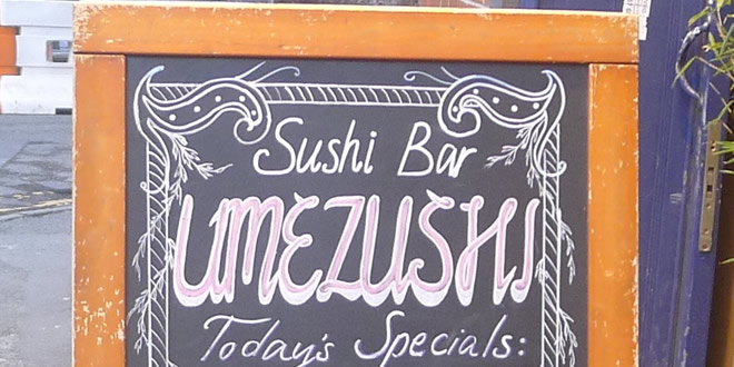 Back To Umezushi, Manchester